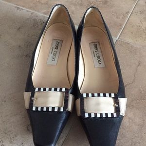Authentic Jimmy Choo slip on Loafer